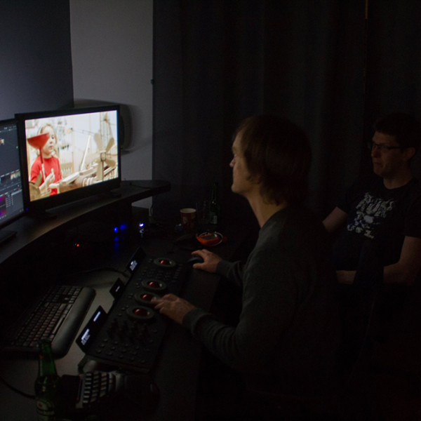 Color grading in Bucharest with Revolve